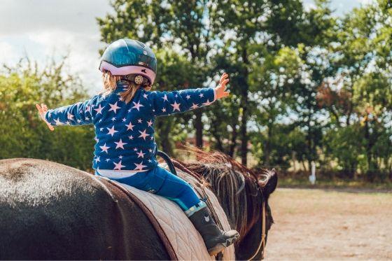 Wanneer beginnen met paardrijden