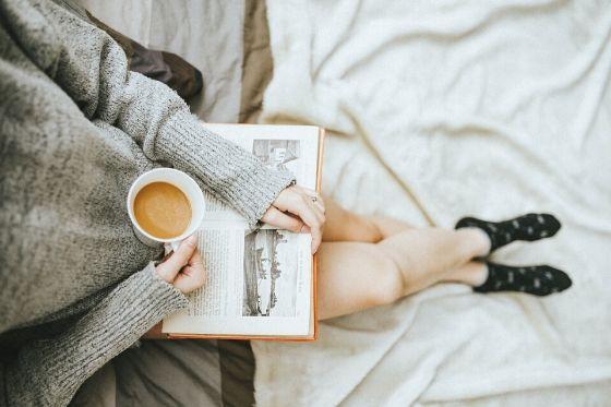 zelfzorg - een boek lezen