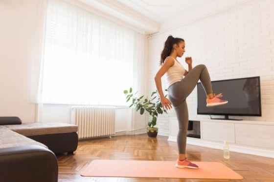 Sporten thuis - sporten zonder sportschool