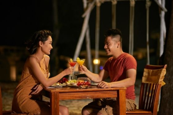 date night samen uit eten