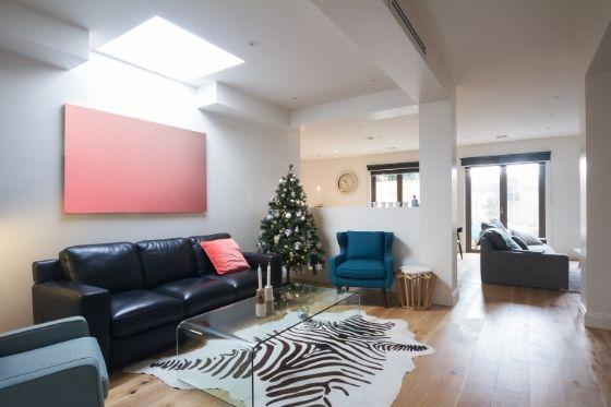 Lichtkoepel in woonkamer meer licht creëren