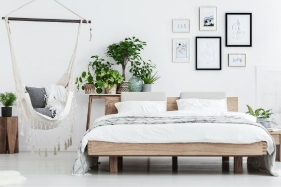 luchtzuiverende planten op de slaapkamer