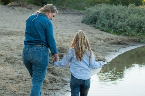 Mijn dochter lijkt zo enorm op mij