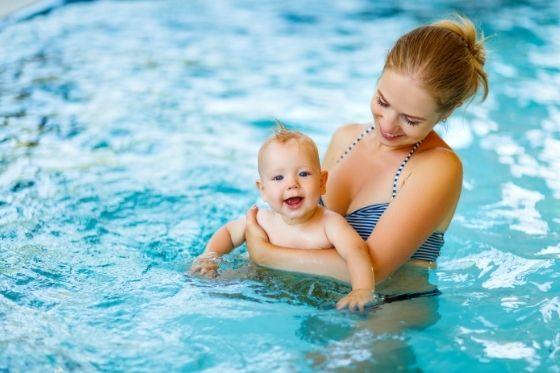 Zwemmen met je baby, hou hier rekening mee!