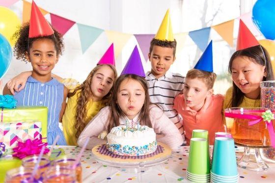 Een kinderfeestje thuis organiseren