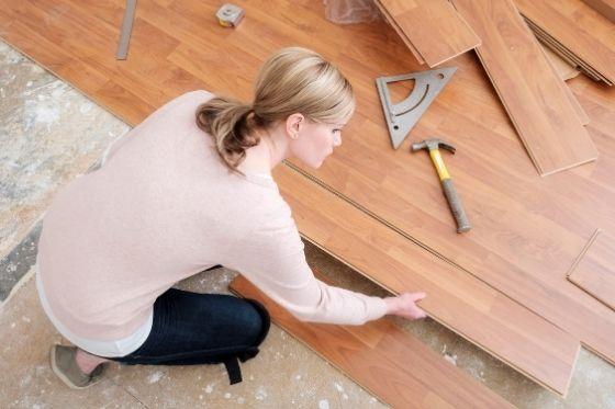 Let hierop bij het leggen van laminaat vloer