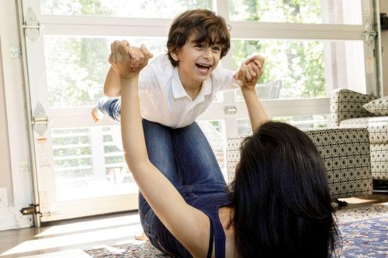 Kinderen bezighouden of zich laten vervelen