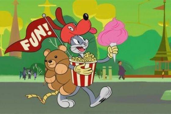 Looney Tunes Cartoons tv premiere Boomerang