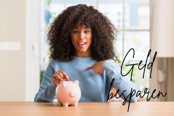 Geld besparen Alle kleine beetje helpen
